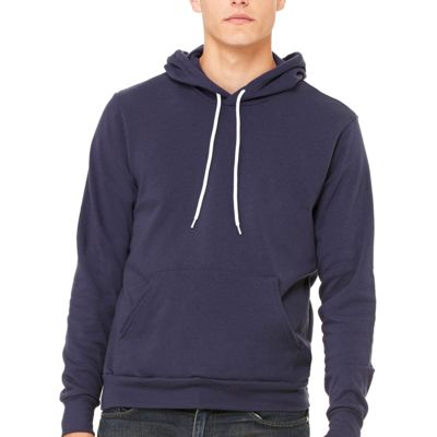 Bella Canvas Unisex Poly-Cotton Fleece Pullover Hoodie Thumbnail