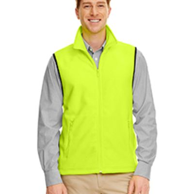 Harriton Adult 8 oz. Fleece Vest Thumbnail